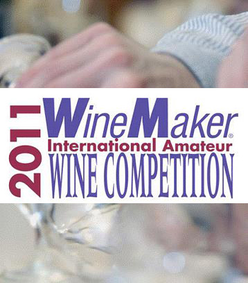 2011 Wine Making Awards